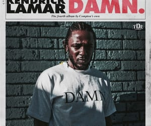 damn, kendrick lamar, and album image