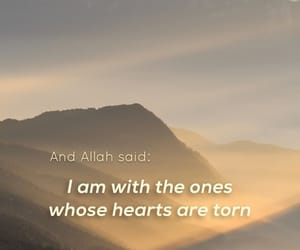 heart, islam, and quote image