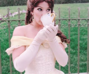 beauty and the beast, chip, and disneyland image