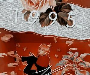 kpop, v, and wallpaper image