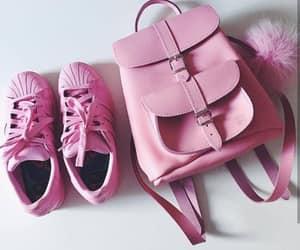 pink, bag, and adidas image