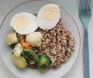 dinner, eat, and healthy image