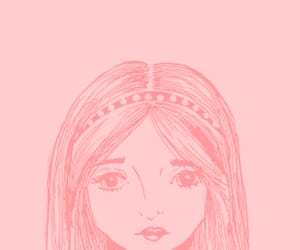 girl, glitters, and pink image