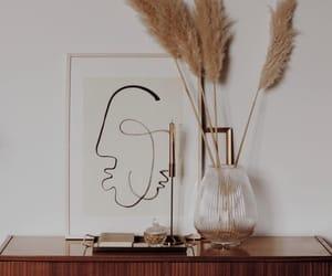 art, brown, and fashion image