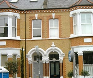 brick cleaning london, brick restoration, and paint removal image