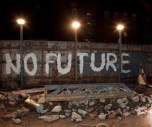 future, grunge, and no future image