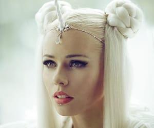 beauty, girl, and unicorns image