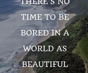 nature, quotes, and travel image