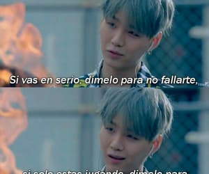 bts, bts frases, and suga image