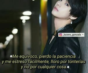 v, bts, and bts frases image