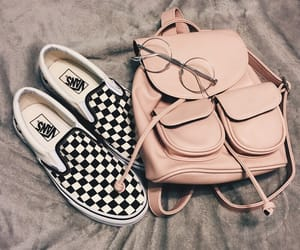 glasses, pink, and shoes image