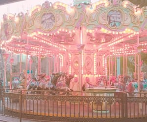 carousel, pastel, and aesthetic image