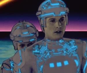gif, tron, and 80's movies image