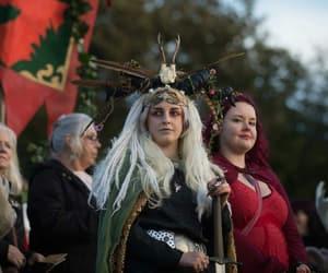 glastonbury, samhain, and pagan image