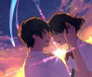 kimi no na wa, your name, and love image