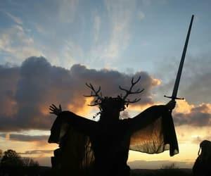 celtic, glastonbury, and pagan image