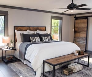 architecture, bed, and bedroom image