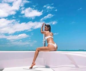 aesthetic, bikini, and blue image