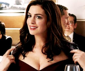 Anne Hathaway, beauty, and brunette image