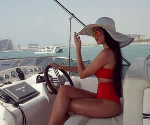 bikinis, boats, and styles image