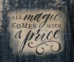 once upon a time, magic, and quotes image