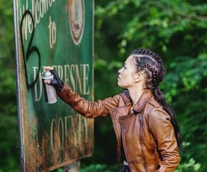 the walking dead, twd, and rosita espinosa image