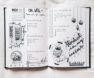 journal, journaling, and bullet image