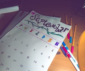 calendar, colorful, and creative image