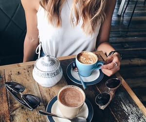 bar, blonde, and breakfast image