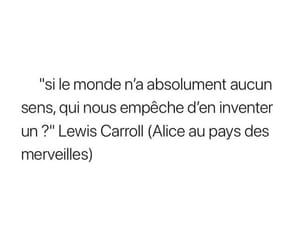 alice au pays des merveilles, french, and no way image