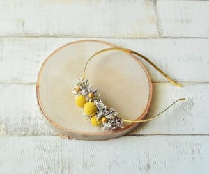 etsy, floral hairpiece, and floral headband image