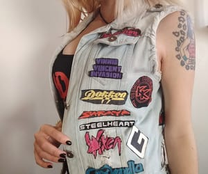 1980s, patch, and hard n heavy image