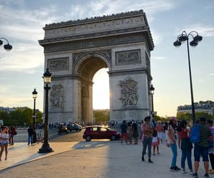 Champs-Elysees, france, and paris image