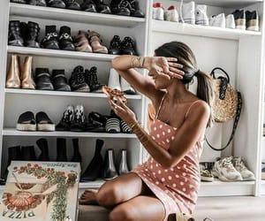 closet, colors, and fashion image