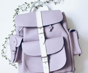 backpack, back to school, and school bag image
