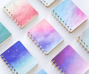 notebook, back to school, and galaxy notebook image