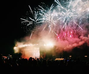 concert, fireworks, and festival image