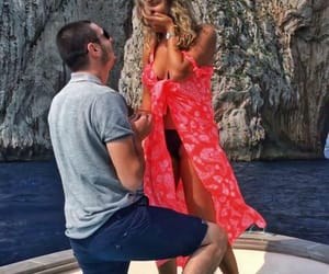 boat, boyfriend, and engaged image