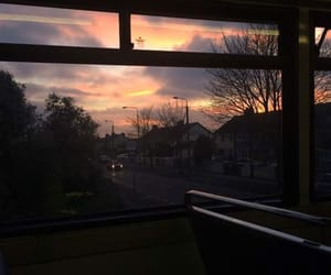 sky, tumblr, and sunset image