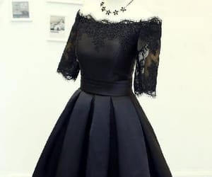 lace homecoming dress, homecoming dress black, and prom dresses short image