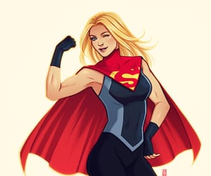 kara danvers, Supergirl, and dc comics image