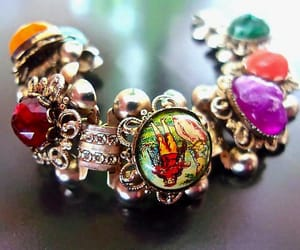 collectible, etsy, and book chain bracelet image