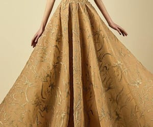 dress and golden image