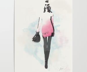 art, art print, and drawing image