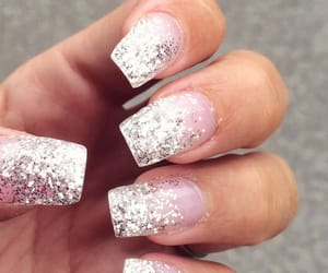 classy, silver, and glitter image
