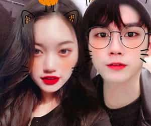 cute couple, ong, and korean couple image