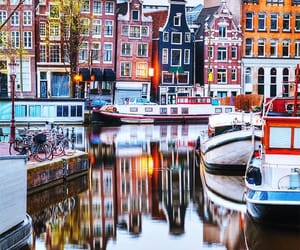 amsterdam and travel image