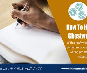 ghost writing services, how to hire a ghostwriter, and ghostwriter needed image