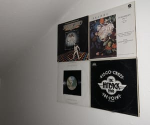bee gees, vinyl, and decor image
