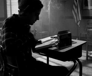 riverdale, black and white, and cole sprouse image